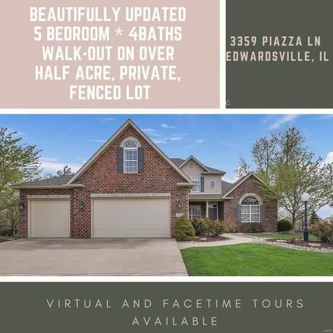3359 Piazza Lane, Edwardsville, IL 62025 (#20015861) :: Parson Realty Group