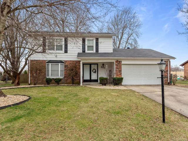 501 Windrift Drive, Belleville, IL 62221 (#20016046) :: RE/MAX Vision