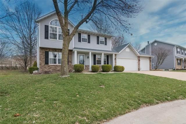 1004 Oakridge Drive, Maryville, IL 62062 (#20016115) :: Clarity Street Realty