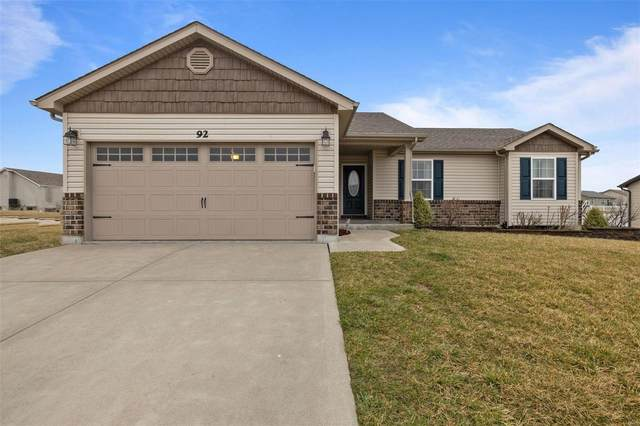 92 Brookshire Creek Drive, Wentzville, MO 63385 (#20016330) :: Clarity Street Realty