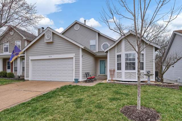 1906 Strawberry Ridge Drive, Ballwin, MO 63021 (#20017168) :: The Becky O'Neill Power Home Selling Team