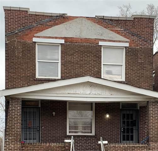 5025 Saint Louis Avenue, St Louis, MO 63115 (#20017323) :: Peter Lu Team