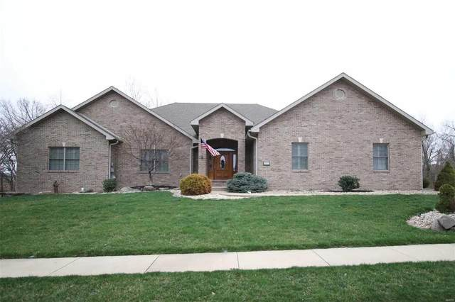 1203 Seasons Drive, Godfrey, IL 62035 (#20018161) :: Fusion Realty, LLC