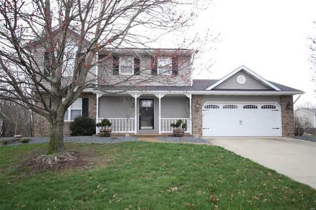 601 Meadowlark Street, Troy, IL 62294 (#20018392) :: Hartmann Realtors Inc.