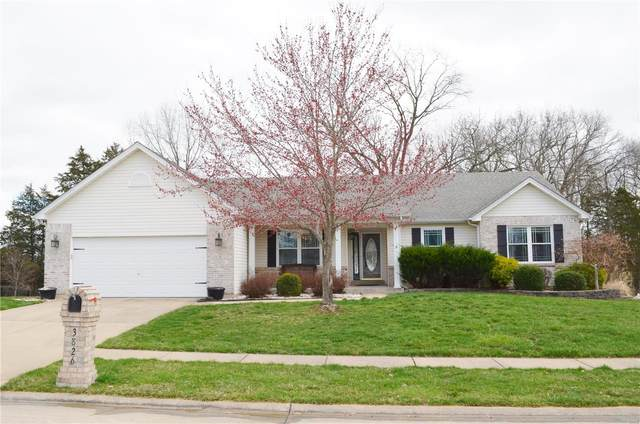 3826 Bedford Pointe Drive, Wentzville, MO 63385 (#20018548) :: Clarity Street Realty