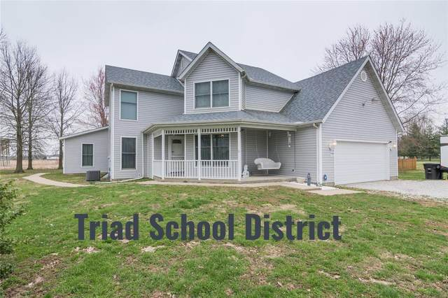 8572 Maple Grove Road, Edwardsville, IL 62025 (#20018911) :: Hartmann Realtors Inc.