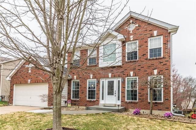 1151 Oak Borough Drive, Ballwin, MO 63021 (#20019374) :: St. Louis Finest Homes Realty Group