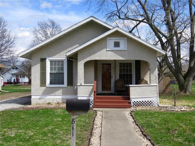 811 N Adams Street, GILLESPIE, IL 62033 (#20020508) :: Fusion Realty, LLC