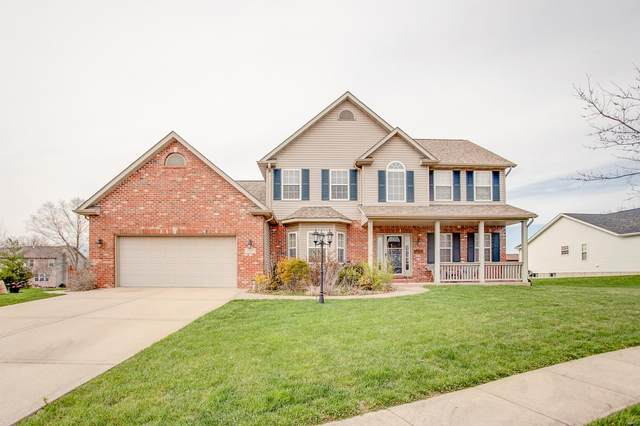 3433 Vicksburg Dr, Edwardsville, IL 62025 (#20021604) :: Kelly Hager Group | TdD Premier Real Estate
