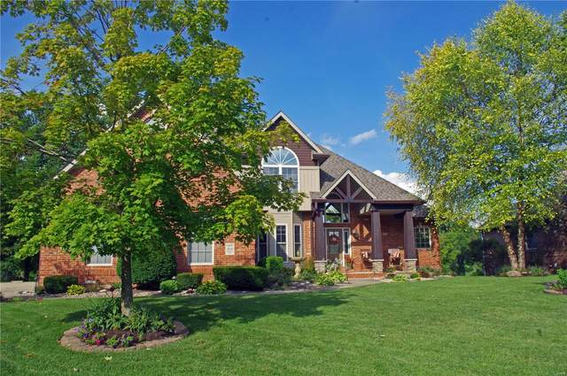 2830 Woodfield Dr, Maryville, IL 62062 (#20022090) :: Hartmann Realtors Inc.