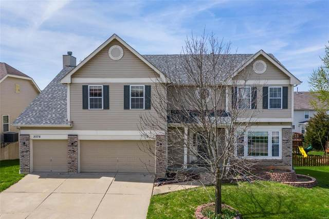 2076 Williamstown Drive, Saint Peters, MO 63376 (#20022188) :: Kelly Hager Group | TdD Premier Real Estate