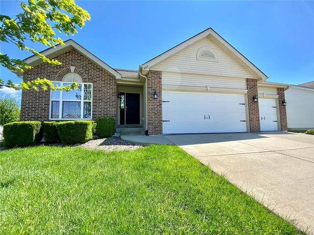 227 Edbrooke Drive, Shiloh, IL 62221 (#20027080) :: St. Louis Finest Homes Realty Group