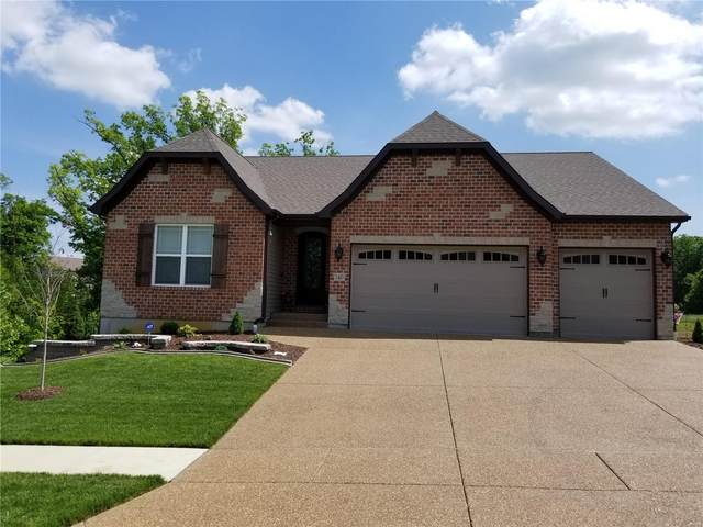 514 Stonewolf Creek Drive, Wentzville, MO 63385 (#20028685) :: The Becky O'Neill Power Home Selling Team
