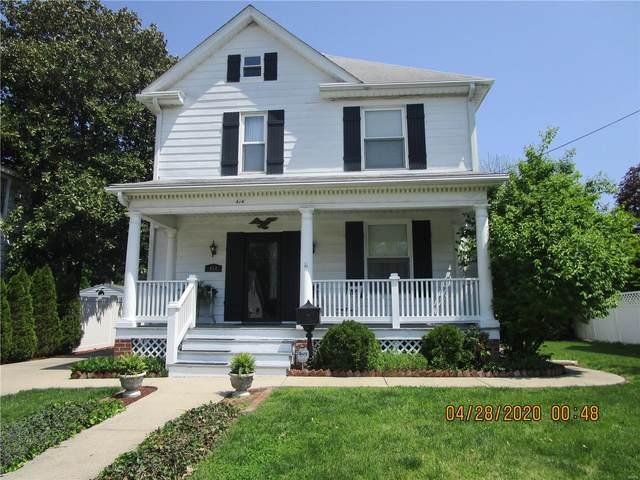 414 N Morrison Avenue, Collinsville, IL 62234 (#20029118) :: Parson Realty Group