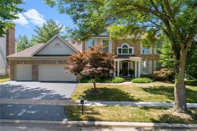 17112 Westridge Meadows Drive, Chesterfield, MO 63005 (#20029526) :: Matt Smith Real Estate Group