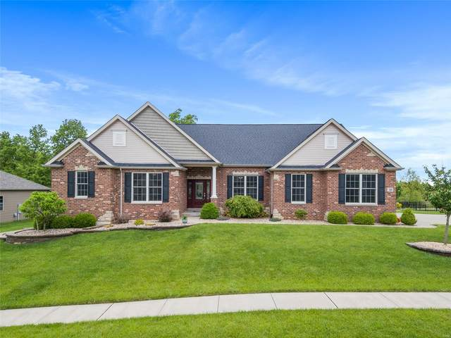 124 Woodspur Drive, Wentzville, MO 63385 (#20030584) :: Parson Realty Group