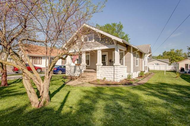 407 W Chestnut, GILLESPIE, IL 62033 (#20030865) :: RE/MAX Professional Realty