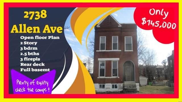 2738 Allen Avenue, St Louis, MO 63104 (#20032132) :: Hartmann Realtors Inc.