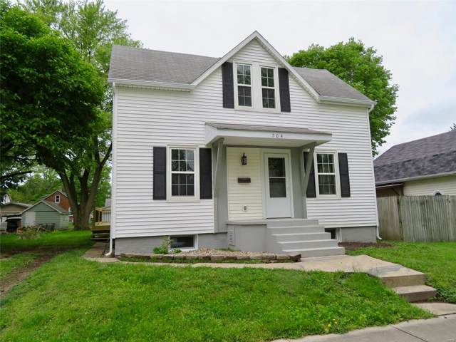 704 Pine Street, Highland, IL 62249 (#20032389) :: The Becky O'Neill Power Home Selling Team
