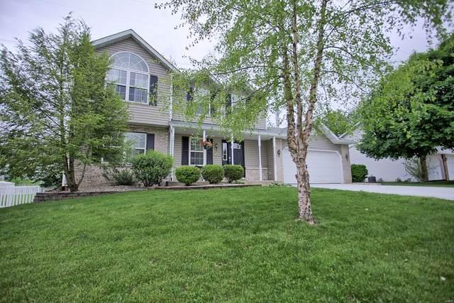 825 Cedar Valley, Maryville, IL 62062 (#20032801) :: Hartmann Realtors Inc.