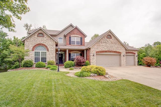 13 Timber Bluff Court, Glen Carbon, IL 62034 (#20033094) :: Hartmann Realtors Inc.
