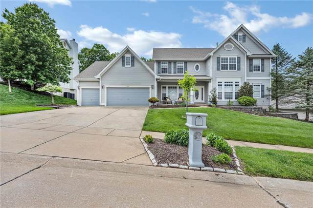 949 Stone Spring Drive, Eureka, MO 63025 (#20033188) :: Realty Executives, Fort Leonard Wood LLC