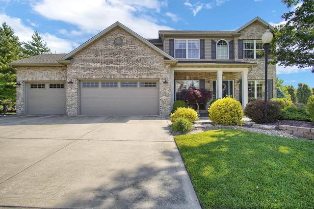 23 Rose Court, Glen Carbon, IL 62034 (#20033449) :: Kelly Hager Group | TdD Premier Real Estate