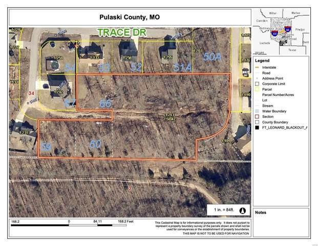 0 Lots 59, 60, & 66 Tundra Road, Saint Robert, MO 65584 (#20033491) :: Walker Real Estate Team