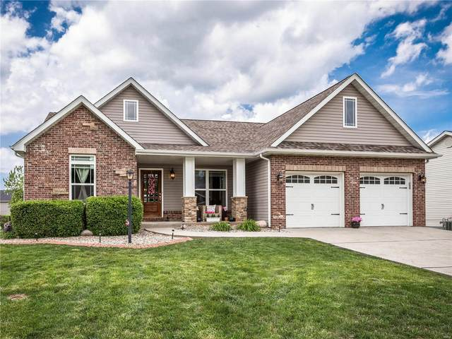7041 Augusta Drive, Glen Carbon, IL 62034 (#20033536) :: Kelly Hager Group | TdD Premier Real Estate