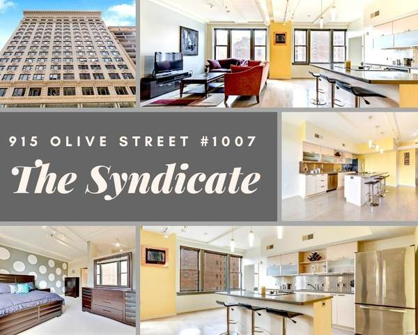 915 Olive Street #1007, St Louis, MO 63101 (#20033553) :: The Becky O'Neill Power Home Selling Team