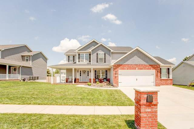 1424 Keck Ridge Drive, O'Fallon, IL 62269 (#20033928) :: The Becky O'Neill Power Home Selling Team