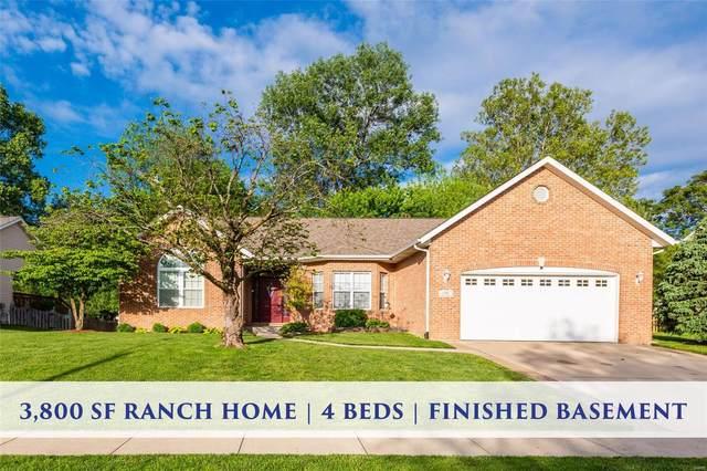 1246 Illini Drive, O'Fallon, IL 62269 (#20033991) :: Kelly Hager Group | TdD Premier Real Estate