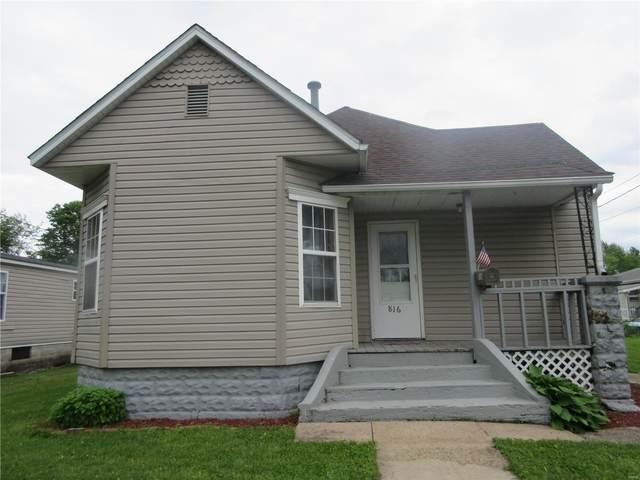 816 N Hibbard Street, STAUNTON, IL 62088 (#20034423) :: Parson Realty Group