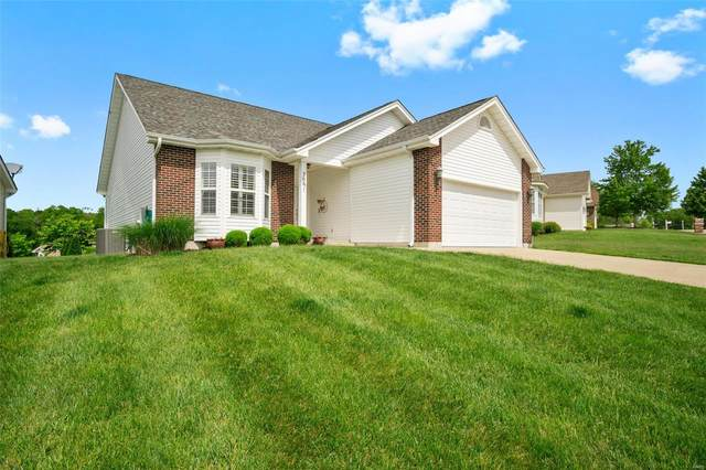 206 Fiddlecreek Ridge Road, Wentzville, MO 63385 (#20034506) :: Realty Executives, Fort Leonard Wood LLC