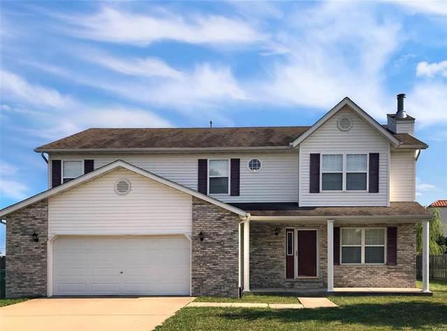 1517 Keck Ridge Drive, O'Fallon, IL 62269 (#20034977) :: Realty Executives, Fort Leonard Wood LLC