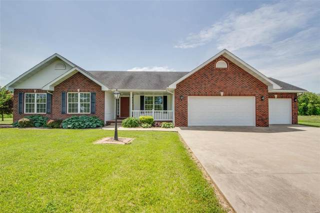 25787 Walnut Creek Drive, Dow, IL 62022 (#20035033) :: Fusion Realty, LLC