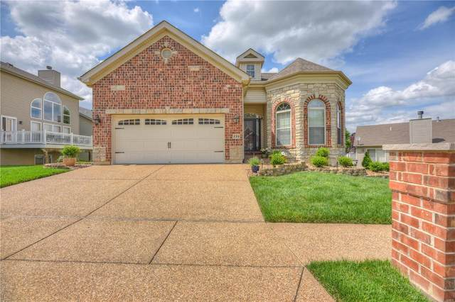 154 Blue Water Drive, Saint Peters, MO 63366 (#20035181) :: The Becky O'Neill Power Home Selling Team