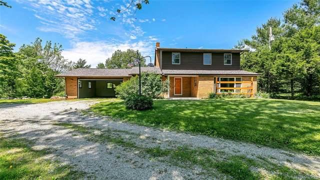 6905 Deer Hill Road, Waterloo, IL 62298 (#20035632) :: Century 21 Advantage