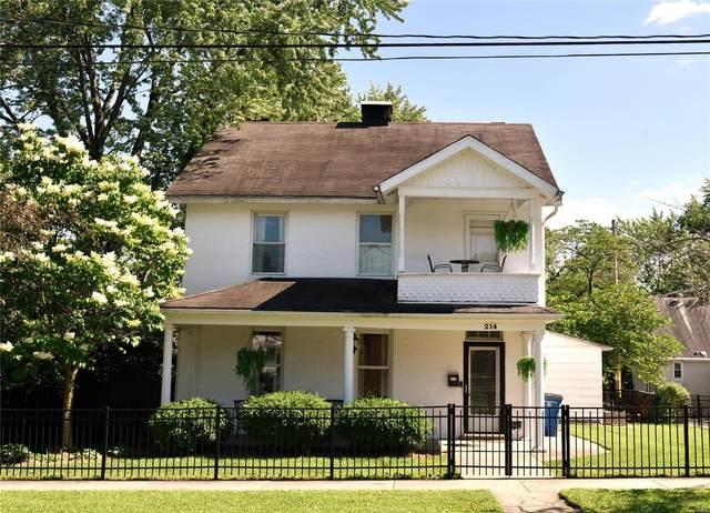 214 E Main, Greenville, IL 62246 (#20035743) :: Matt Smith Real Estate Group
