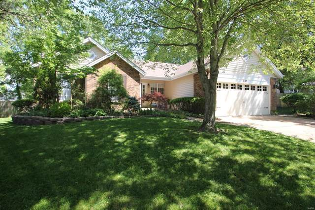 352 Woodrun, Ballwin, MO 63021 (#20035975) :: Kelly Hager Group | TdD Premier Real Estate