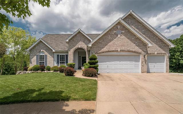 805 Castle Ridge Court, Ballwin, MO 63021 (#20035991) :: St. Louis Finest Homes Realty Group