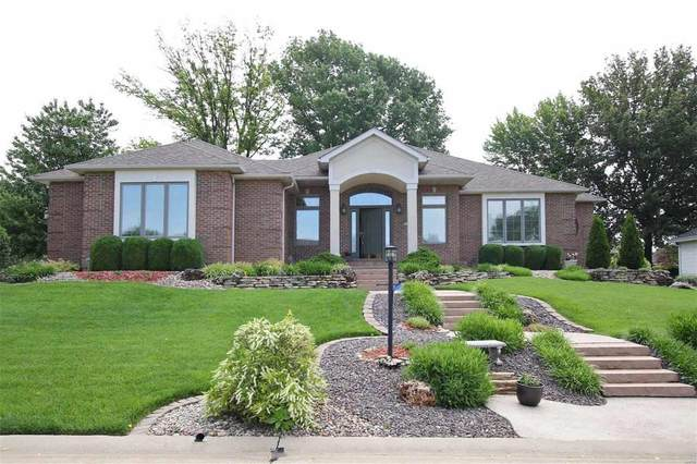5311 Whispering Woods Drive, Godfrey, IL 62035 (#20036014) :: Tarrant & Harman Real Estate and Auction Co.