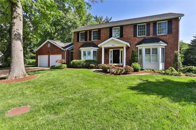 554 Ballas Trails Drive, Des Peres, MO 63122 (#20036053) :: Parson Realty Group