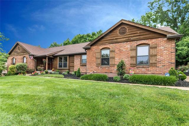 1427 Dietrich Oaks Drive, Ballwin, MO 63021 (#20036741) :: Walker Real Estate Team