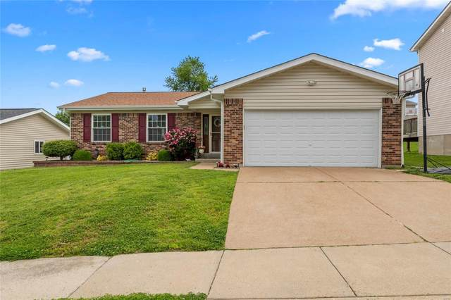 12139 Beckford Estates Drive, Maryland Heights, MO 63043 (#20036818) :: Parson Realty Group