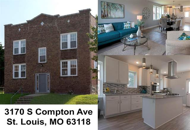 3170 S Compton Avenue, St Louis, MO 63118 (#20036899) :: Parson Realty Group