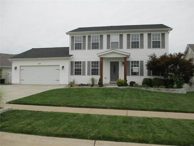 135 Brookshire Creek Drive, Wentzville, MO 63385 (#20038042) :: Parson Realty Group