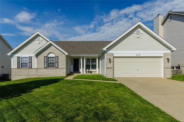 419 Valley Spring Drive, O'Fallon, MO 63366 (#20038170) :: St. Louis Finest Homes Realty Group