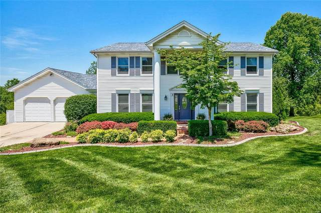 14941 Manor Ridge Drive, Chesterfield, MO 63017 (#20038225) :: Parson Realty Group