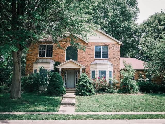 205 Burns Farm Boulevard North, Edwardsville, IL 62025 (#20038627) :: Century 21 Advantage
